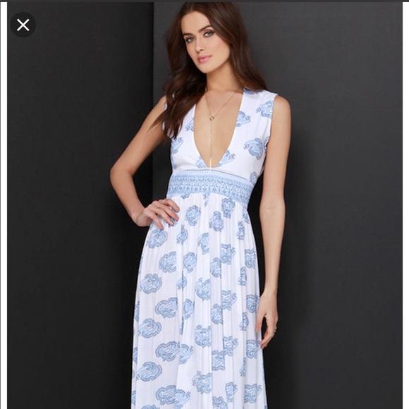 0a02179b497f Faithfull the Brand Dresses   Skirts - Faithfull the Brand Night Orchid Maxi  Dress